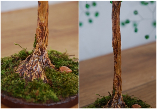 В данном мастер-классе описывается самое простое оформление ствола бисерного дерева с помощью гипса.