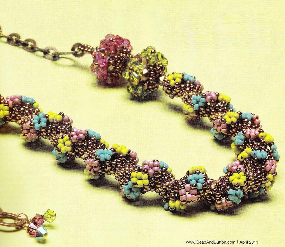Необходимые материалы для плетения украшений:- бисер золотого.