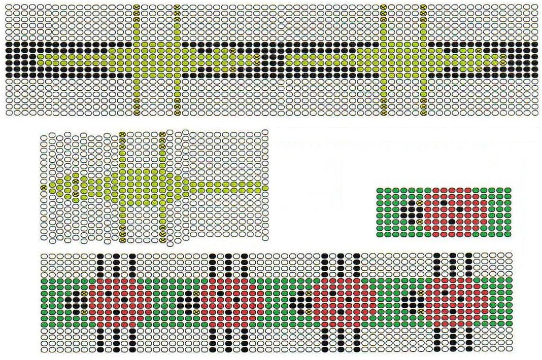 Схемы плетения браслетов с