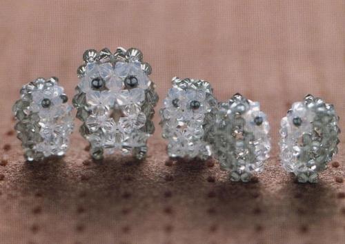 Плетение сов из кристаллов