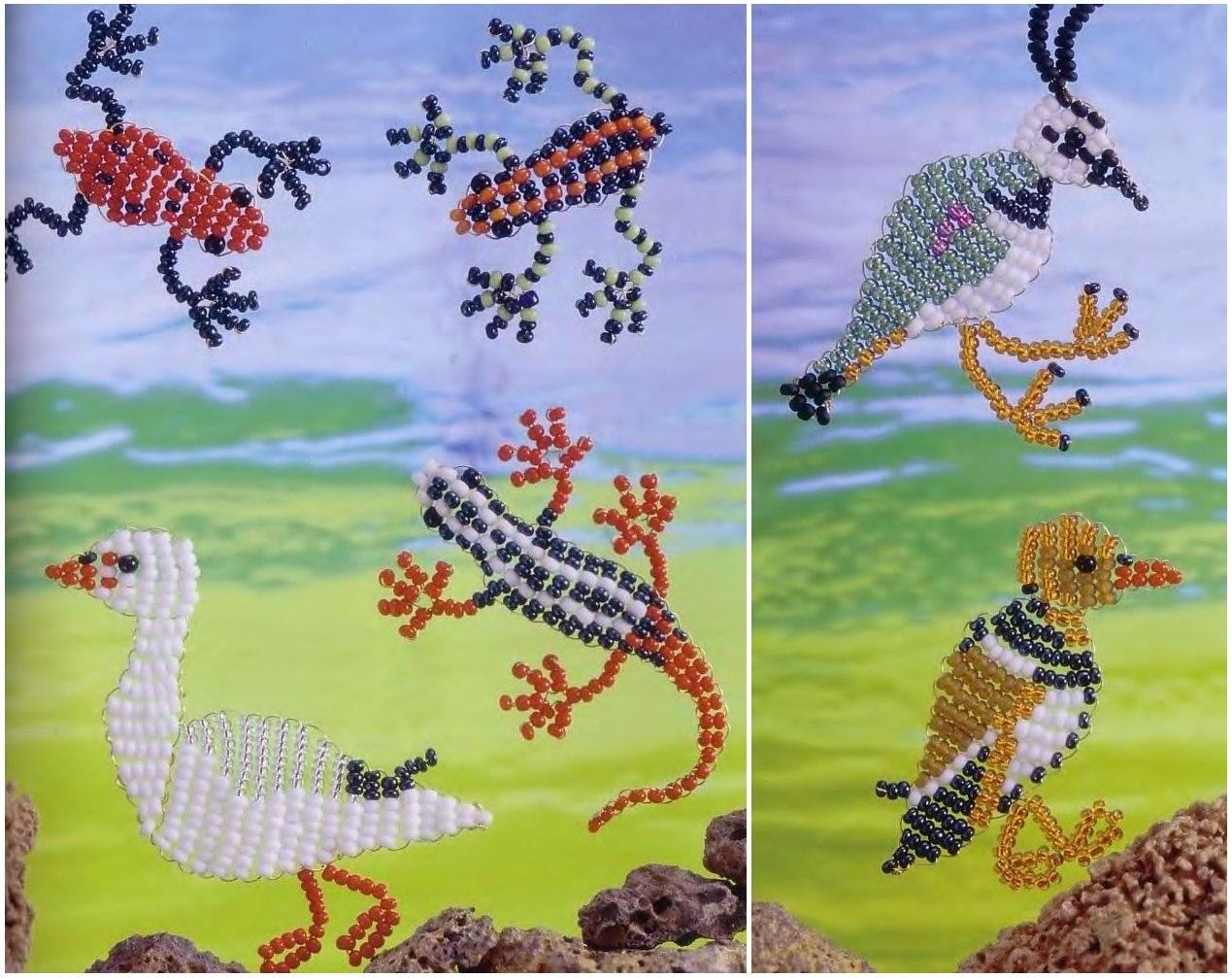 Удивительные зверушки плетем из бисера скачать