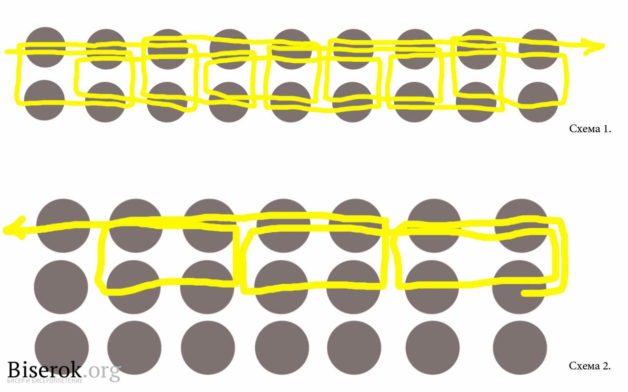 схема фенечек коловрат