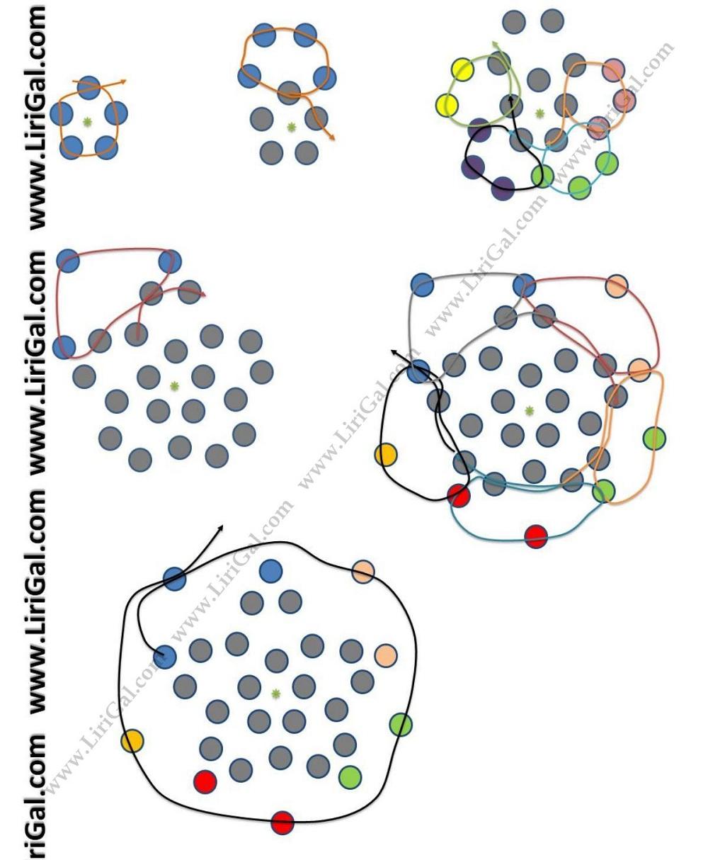 Оплетенные бусины из бисера схемы