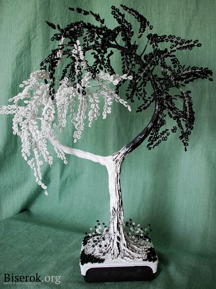 деревья cthltxrj из бисерa схемы
