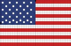 флаг для плетения