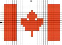 Схема для флага