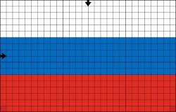 Схема флага для вышивки