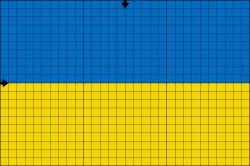 Вышиваем флаг