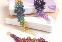 Красивые браслеты из кристаллов