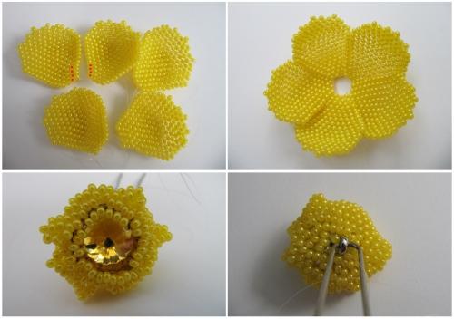 Данный цветок можно использовать как украшение для волос (шпильку, заколку, резиночку, пришить его к детской.