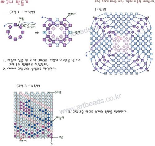 Схема плетения шкатулки