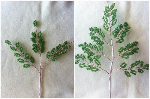 Сборка ветвей в пучки