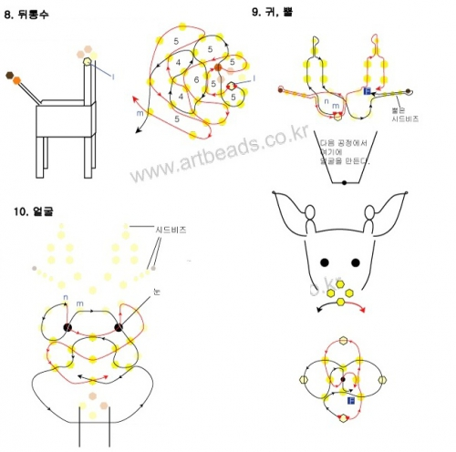 Изготовление жирафа