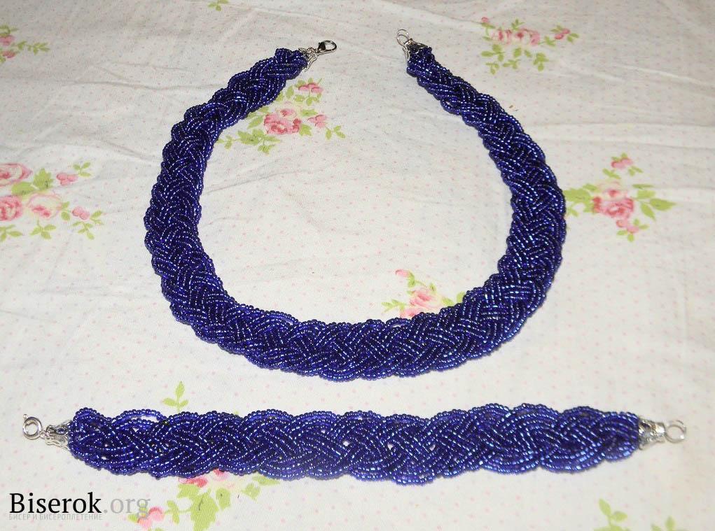 Ангри синий схема из бисера