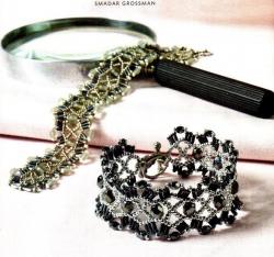 ажурный браслет
