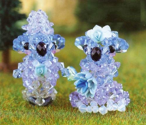 Коала из кристаллов