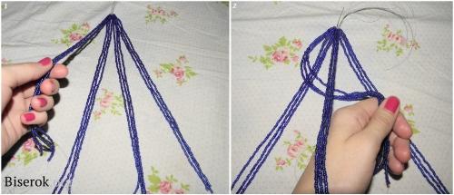 плетем косичку