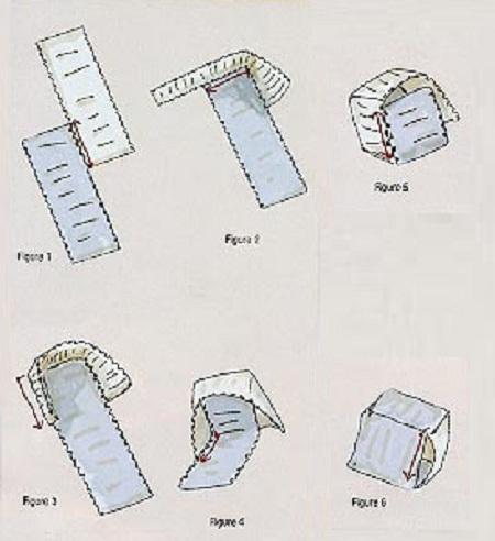 схема плетения кубиков