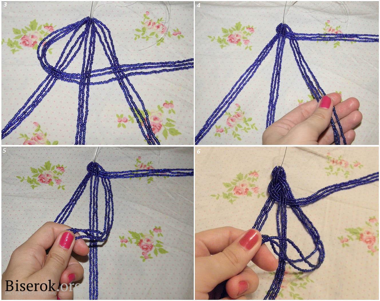 Как сделать браслет косичка своими руками 44