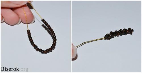 плетение тычинок