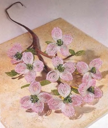Веточка цветов кизила