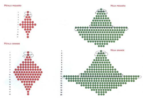 Желаю вам приятного творческого процесса, много терпения и усидчивости.  9.8. Рождественские цветы пуансетии.
