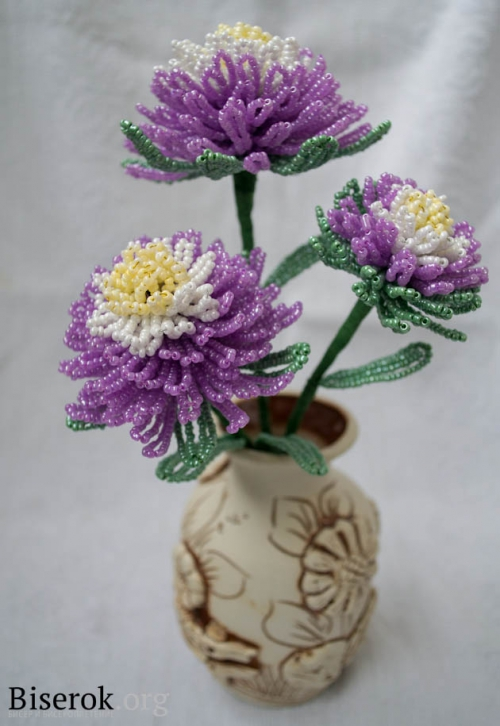 ваза с цветами