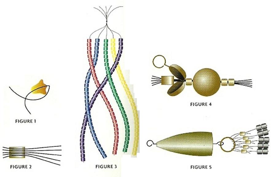 Из нитей бисера плетеные