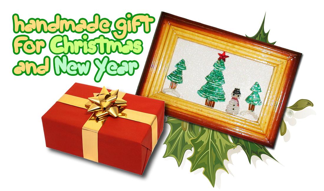 """PART 1of 3 tutorial: Beaded Applique  """"New Year gift """" (Аппликация из бисера) онлайн бесплатно как сделать аппликацию..."""