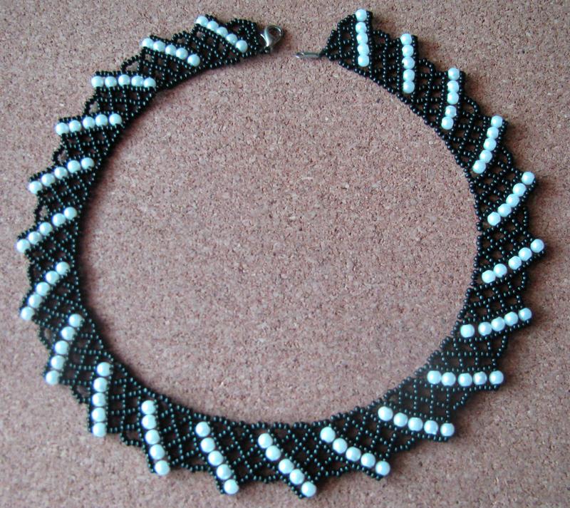 Схема плетения: