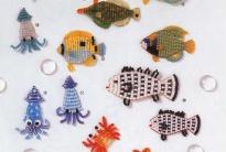 Простые рыбки из бисера