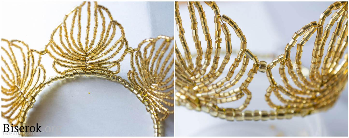 wpid eH urYbX6A0 Золотая корона из бисера для больших и маленьких принцесс.