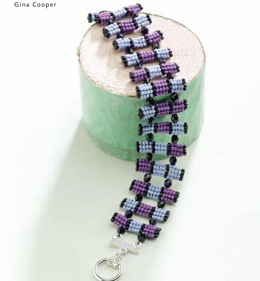 пошаговая схема плетения жгута ндбеле из бисера