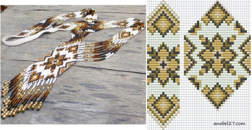 плетение гердана