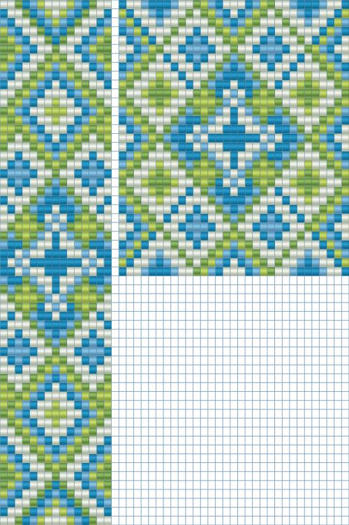 Схемы плетения герданов из бисера фото
