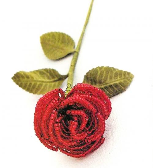 плетем розу