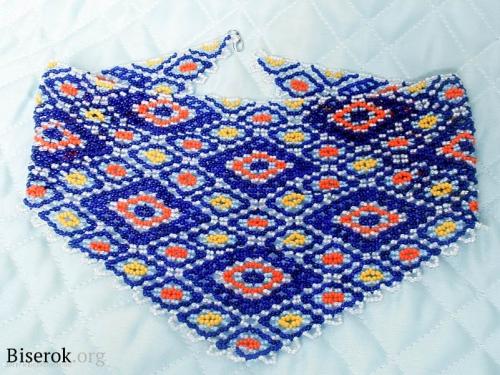 плетем косынку