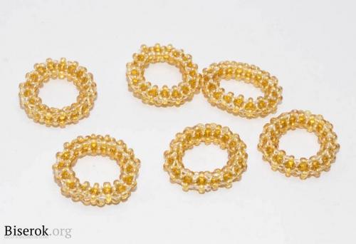 золотые колечки