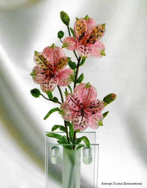Автор этого прекрасного цветка.  Необходимый материал для работы.  Елена Башкатова.