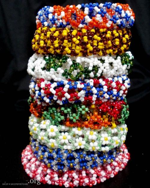объемные браслеты