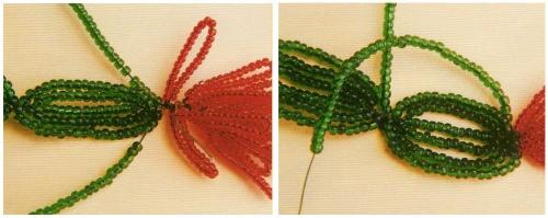 плетение кактуса