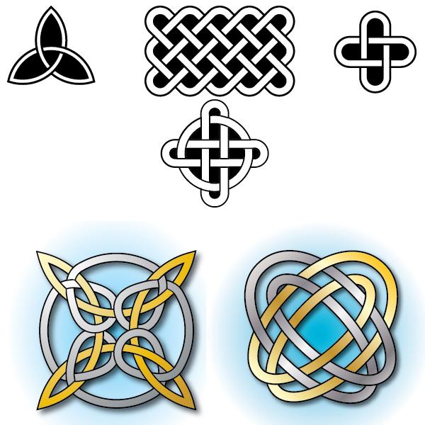 Кельтские мотивы встречаются