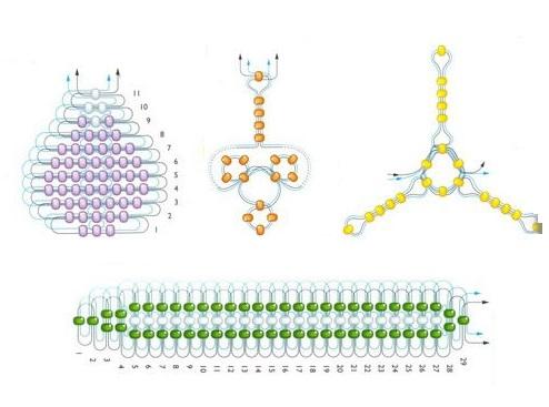 схема плетения крокуса