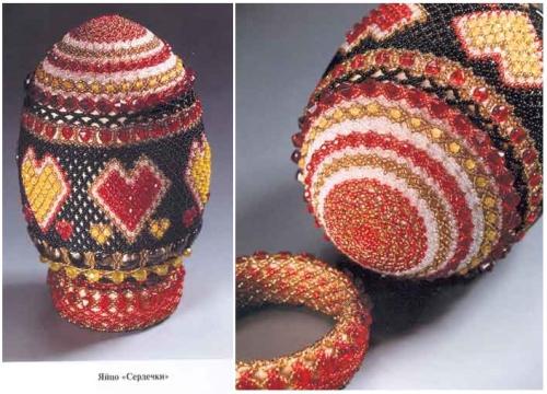яйцо в бисере