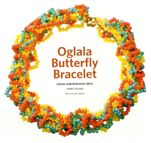 ажурный браслет в стиле огалала