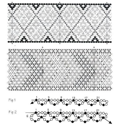 схема плетения. браслеты схемы.