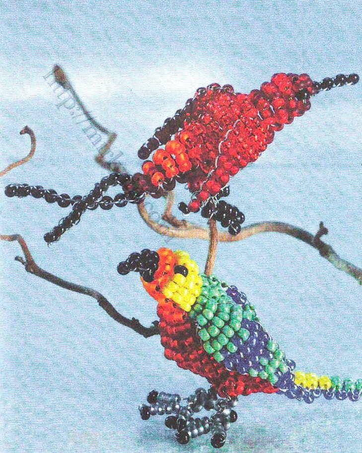 параллельного плетения.