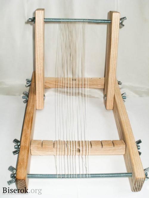 станок для бисерного ткачества
