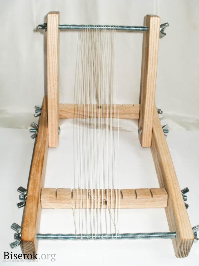 Бисероплетение на ткацкой раме