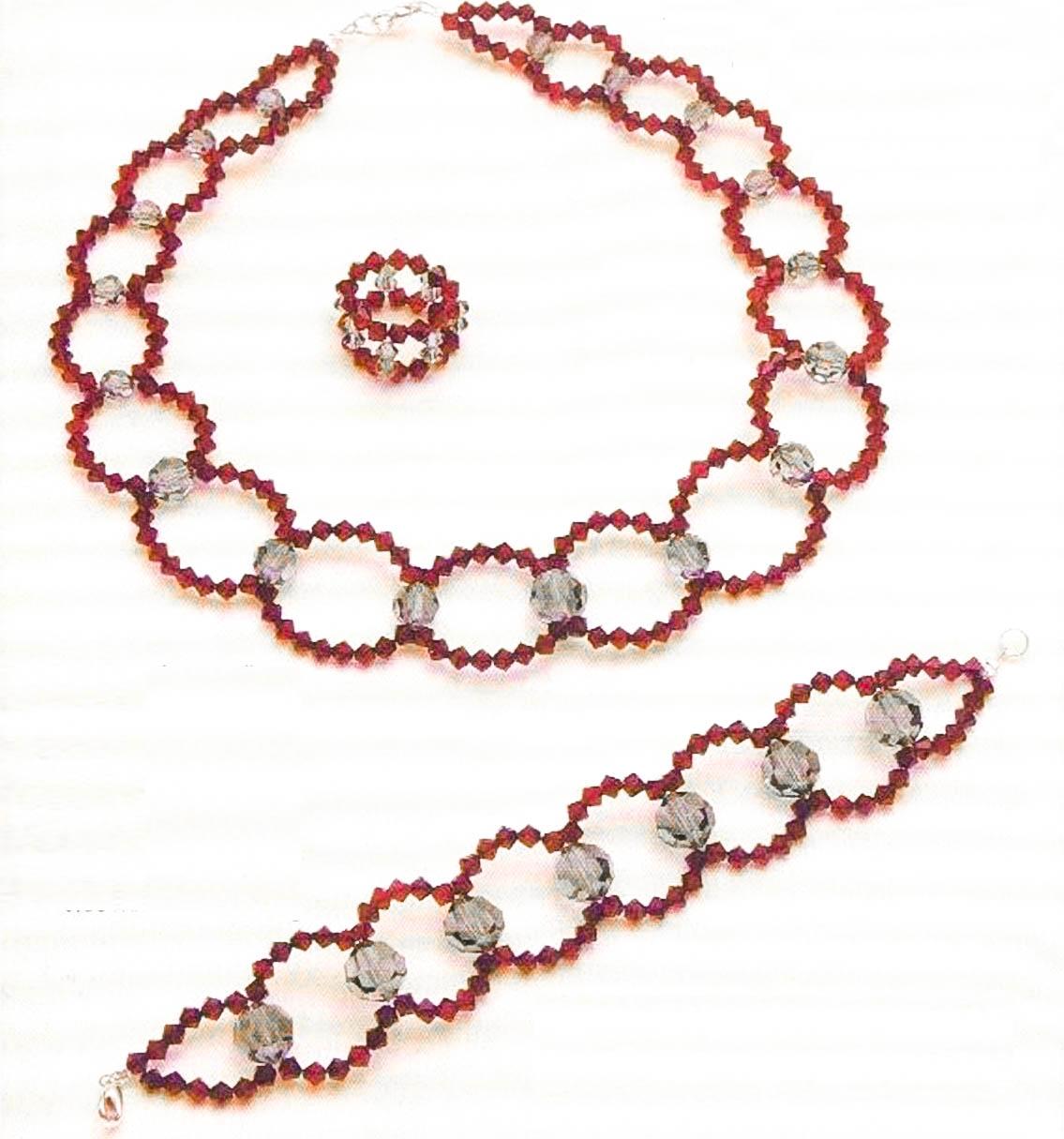 Мастер-класс по плетению кольца из бусин и бисера